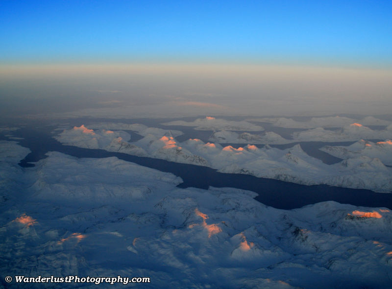 photo of Winter Sun over Greenland