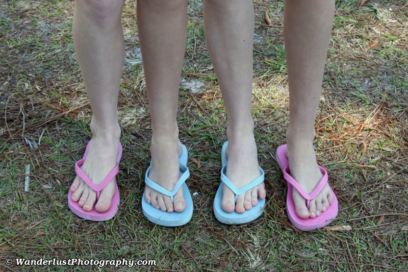 photo of Whose Feet Are Whose?